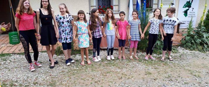 Nastop naših učencev ob krajevnem prazniku KS Železne dveri