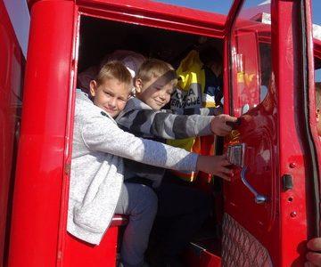 Ogled reševalnih in gasilskih vozil