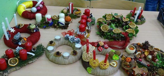 Božične delavnice in vabilo na bazar